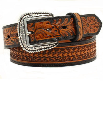 M&F WESTERN MEN'S ARIAT WESTERN BELT- STYLE #A1020867