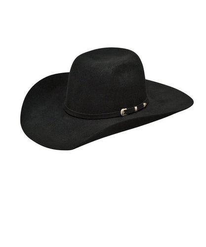 ea490ae8339c3 M F WESTERN YOUTH ARIAT WOOL BLACK PUNCHY HAT- STYLE  A7210001