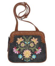 BANDANA WOMEN'S MAYA 2 COMPARTMENT CROSSBODY BAG - STYLE #B130193 - MAYA