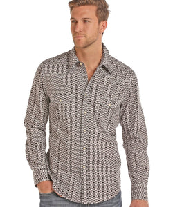 PANHANDLE SLIM MEN'S ROCK & ROLL COWBOY SNAP SHIRT- STYLE #B2S7018