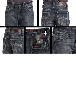 PANHANDLE BOYS' ROCK & ROLL COWBOY REGULAR FIT JEAN- STYLE #BB-6627