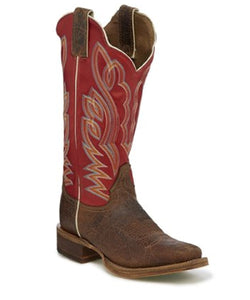 Justin Women's Katia Maple Narrow Square Toe Boot- Style #BRL377