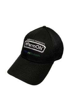 Brandin' Iron Farm Journal #FarmOn Badge Black Cap- Style #FARMONBBBCBADGE