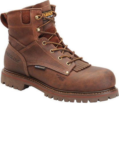 Carolina Boots Men' Waterproof Grizzly Work Boot- Style #CA7028