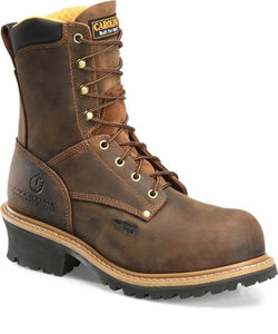 "Carolina Boots Men's 8"" Composite Toe Logger Boot- Style # CA9853"