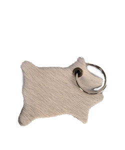 SAMSON FAMILY LEATHER COWHIDE KEYCHAIN- STYLE #CH-KC
