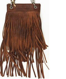 The Chic Bag Women's Brown Crossbody  Bag- Style #CHIC631-BROWN