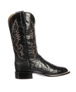 LUCCHESE MEN'S TRENT CAIMAN BELLY AND OSTRICH LEATHER BOOT- STYLE #CL1009.WF