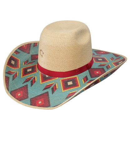 Charlie 1 Horse Women's Cowgirl Outlaw Straw Hat- Style #CSCGOL-884481