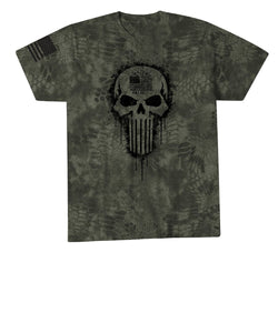Affliction Clothing Howitzer Inc. Tactical Patriot Tee- Style #CV1443