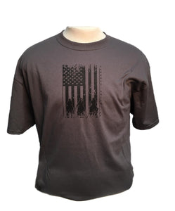 Moss Bros. Men's Cowboy Unlimited American Posse Tee- Style #CB-1597