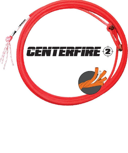 Fastback Ropes Centerfire 2 Heel Rope- Style #HL 2CF