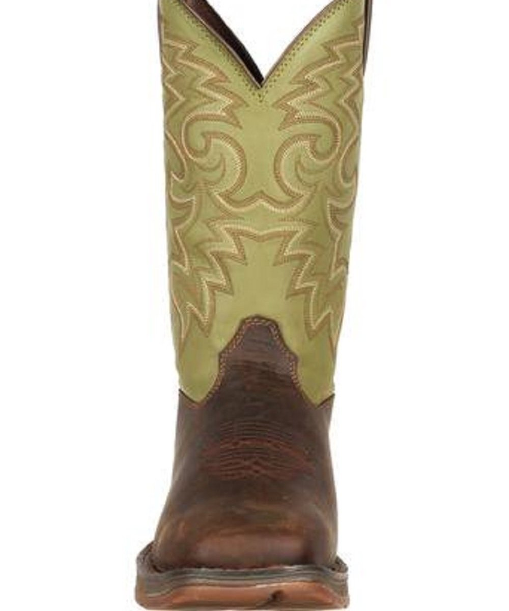 b59cbc84973 Durango Men's Square Toe Rebel Coffee & Cactus Boot- Style #DB5416