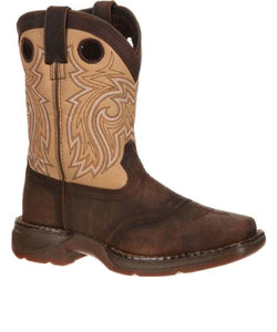 DURANGO KID'S SADDLE WESTERN BOOT- STYLE #DBT0117
