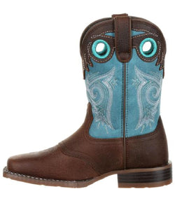 Durango Kids' 'Lil Mustang Square Toe Boot- Style #DBT0206C