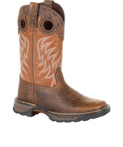 Durango Youth Lil' Durango Big Kids Maverick Western Work Boot- Style #DBT0216Y