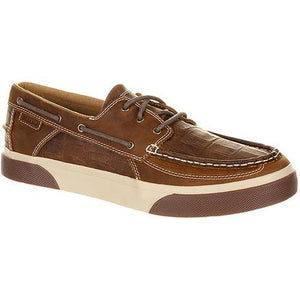 Durango Men's Music City Gator Embossed Boat Shoe- Style #DDB0143