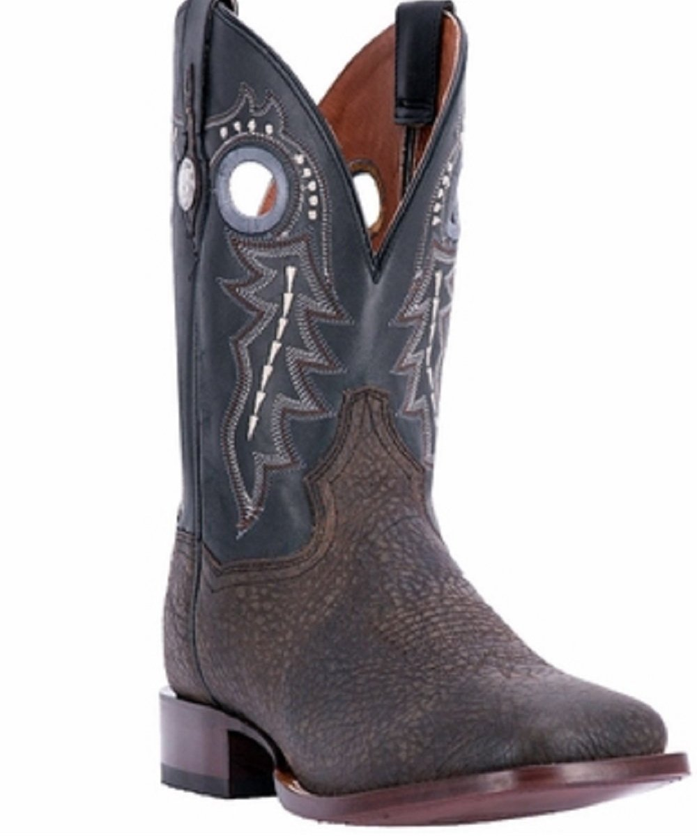 Dan Post Men's Badlands Western Square Toe Boot- Style #DP3974