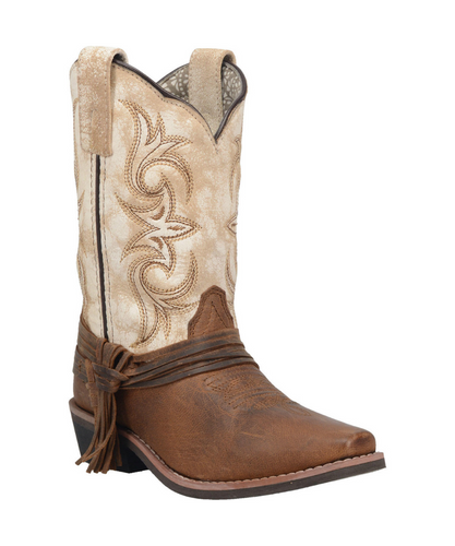 Dan Post Girls' Lil Myra Square Toe Boot- Style #DPC2911