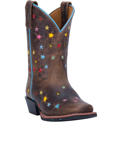 DAN POST GIRLS' STARLETT LEATHER BOOT- STYLE #DPC2952