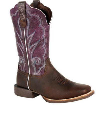 Durango Women's Lady Rebel Pro Ventilated Plum Western Boot- Style #DRD0377