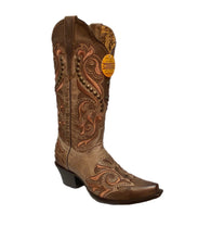 Corral Women's Studded Embroidered Western Boot- Style #G1434