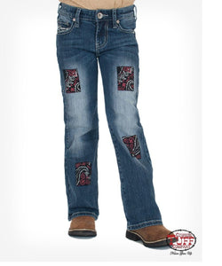 Cowgirl Tuff Red White /& Tuff Jeans