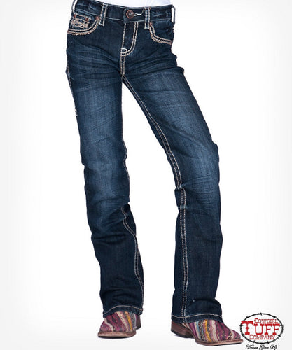 Cowgirl Tuff Girls' No Limits Jean- Style #GJNOLM