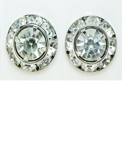 FINISHING TOUCH OF KENTUCKY WOMEN'S RONDELL CRYSTAL EARRINGS - STYLE #HER8307