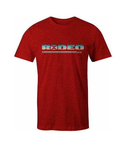 Hooey Men's Red Rodeo Tee- Style #HT1511RD