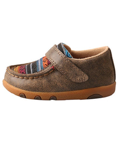 Twisted X Infant Multi Colored Serape Moc - Style #Ica0004