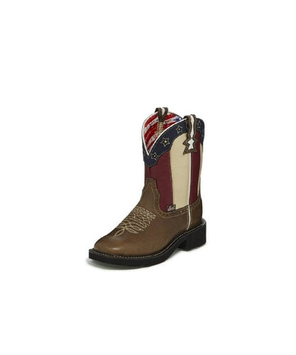 Justin Women's Chellie Stars And Stripes Boot- Style #L9521