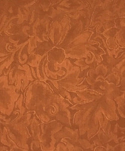 Wyoming West Copper Jacquard Silk Wild Rag Scarf- Style #JCO