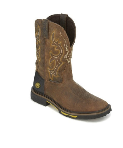 JUSTIN MEN'S WATERPROOF JOIST WORK BOOT- STYLE #WK4624