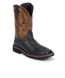 JUSTIN MEN'S DRILLER COMPOSITE TOE WORK BOOT- STYLE #WK4818