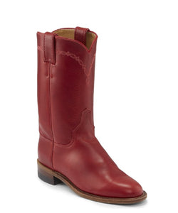 Justin Women's Bernice Red Roper Boot- Style #L3704