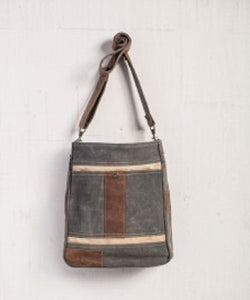 MONA-B CANVAS CAMERON CROSSBODY BAG - STYLE #M-3605
