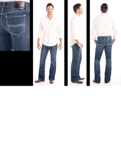 Vaqueros Rock & Roll Cowboy Fit Relaxed Double Barrel Jean- Estilo # M0D1051