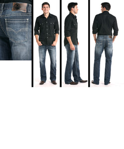 Panhandle Men's Rock & Roll Cowboy Reflex Double Barrel Jean- Style #M0S3473