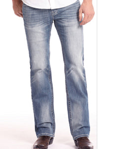 ROCK & ROLL COWBOY PISTOL REGULAR FIT JEANS - STYLE #M1P6614