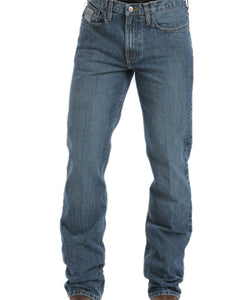 Cinch Men's Silver Label Stonewashed Jeans- Style #MB98034001