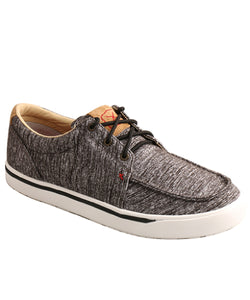 Twisted X Men's Dark Gray Casual Kicks- Style #MCA0036