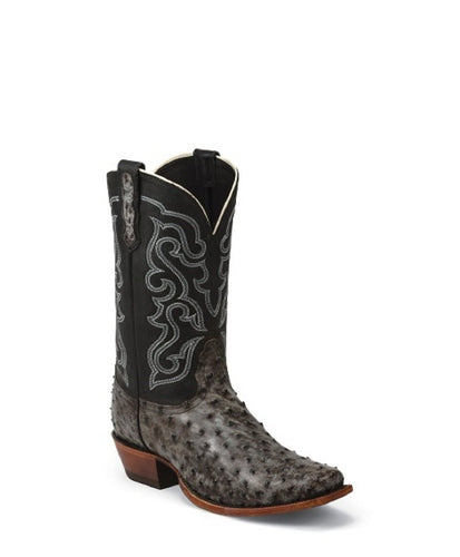 Nocona Men's Tumbled Full Quill Ostrich Premium Boot- Style #MD6514