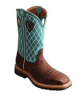 Twisted X Men's Steel Toe Lite Western Work Boot- Style #MLCS021