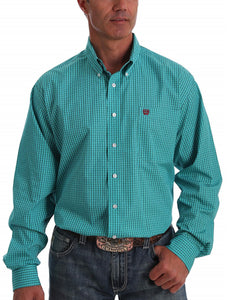 Cinch Men's Dollar Print Button Down Shirt- Style #MTW1105039