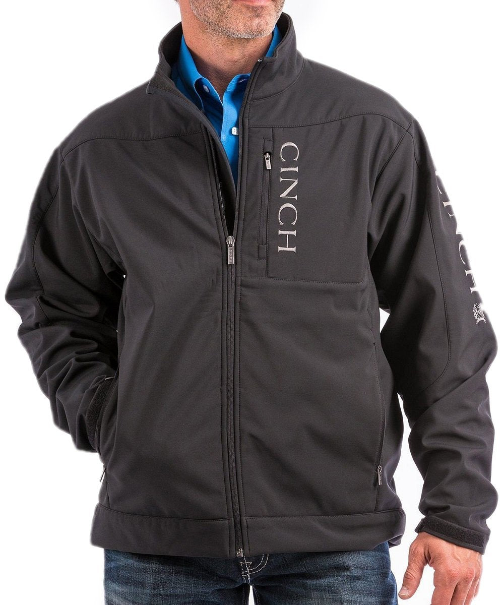 Cinch Men's Bonded Concealed Carry Logo Jacket- Style #MWJ1043014