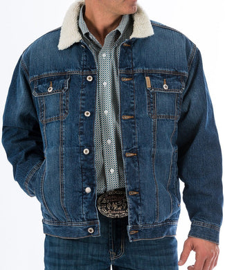 CINCH MEN'S DENIM CONCEALED CARRY JACKET- STYLE #MWJ1074001