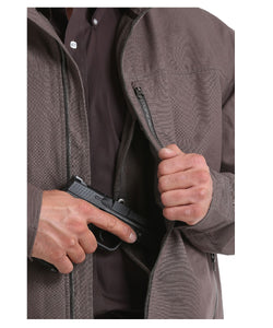 Cinch Men's Concealed Carry Canvas Jacket- Style #MWJ1505001