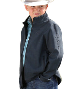 CINCH BOYS' TEXTURED JACKET- STYLE #MWJ7530001