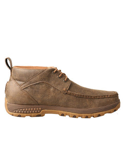 Twisted X Men's Chukka Driving Moc With CellStretch- Style #MXC0001
